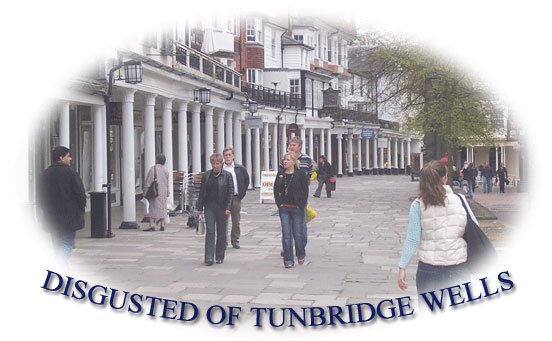 Disgusted of Tunbridge Wells